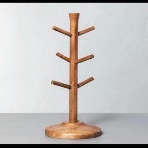 Hearth & Hand Wood Mug Tree